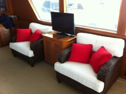 Maria - Upholstery, Carpet, Cushions, Covers & Bimini 007